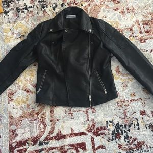 Jackets & Blazers - Noisy May Faux Vegan Leather Jacket Size Small